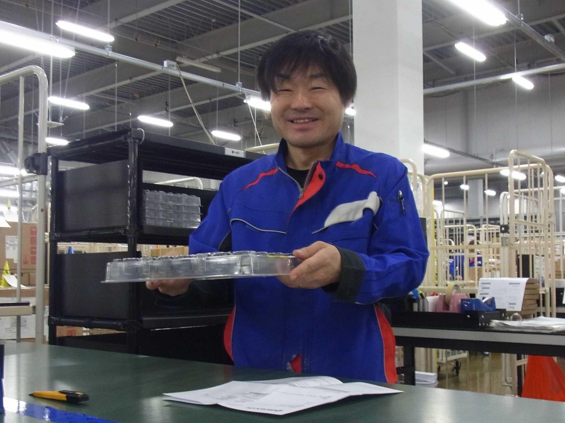 入社時は製品に関する初期教育を行いますので、初めての方も安心です。