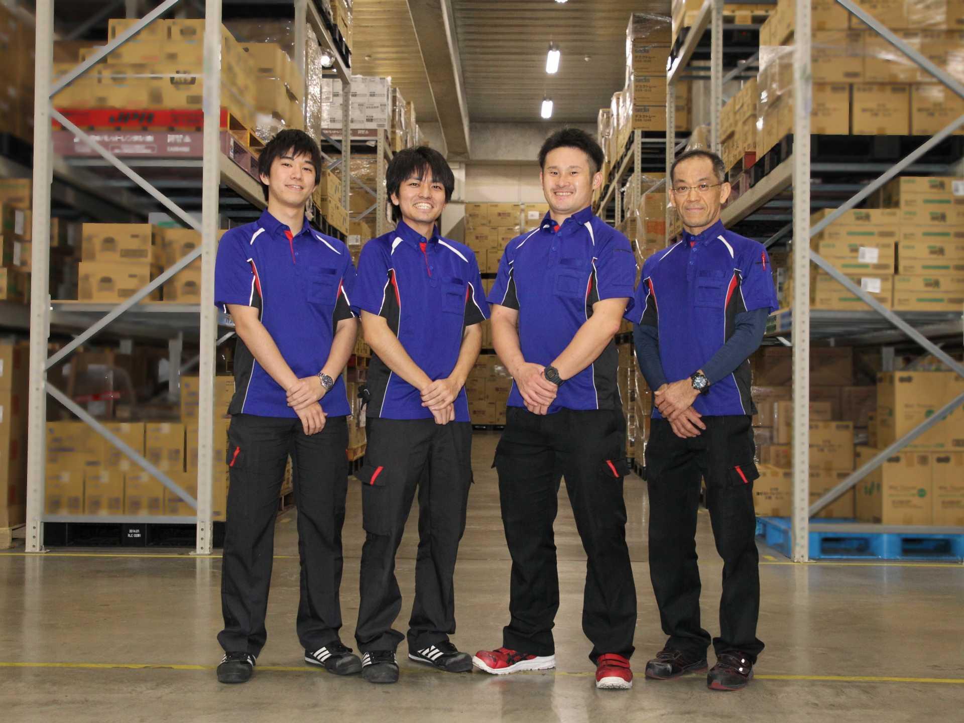 幅広い世代の、様々な経験を持つ多様なメンバーが働く物流センターです!