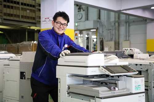 OA機器や介護用品のリサイクル事業を行っています。