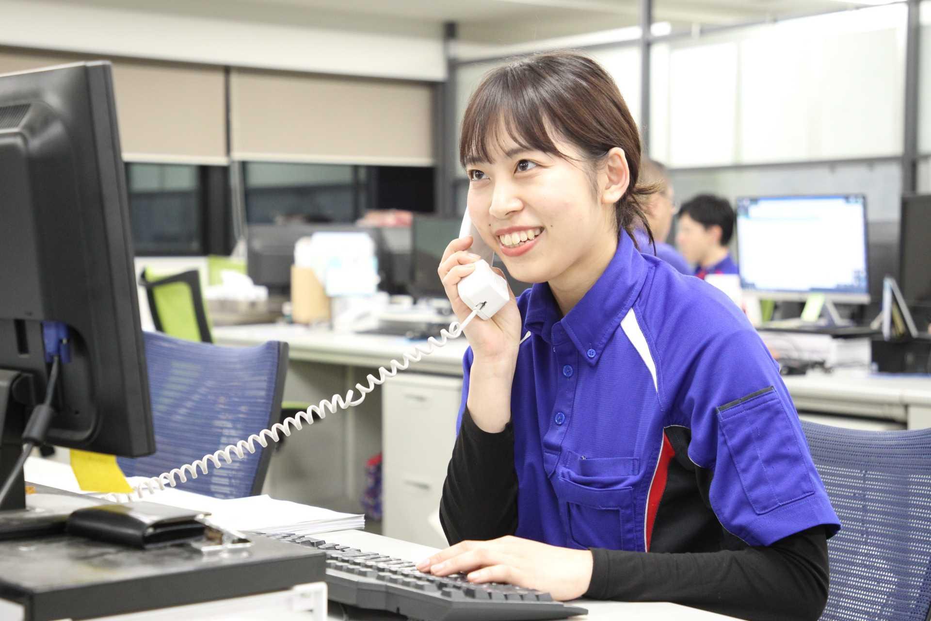 PC操作やTEL対応など一般事務のお仕事です。