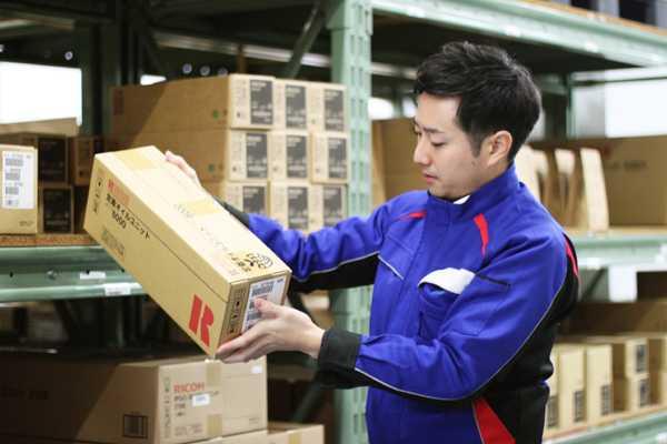 リコー製品を快適にご利用頂くための物流サービスをご提供しています。