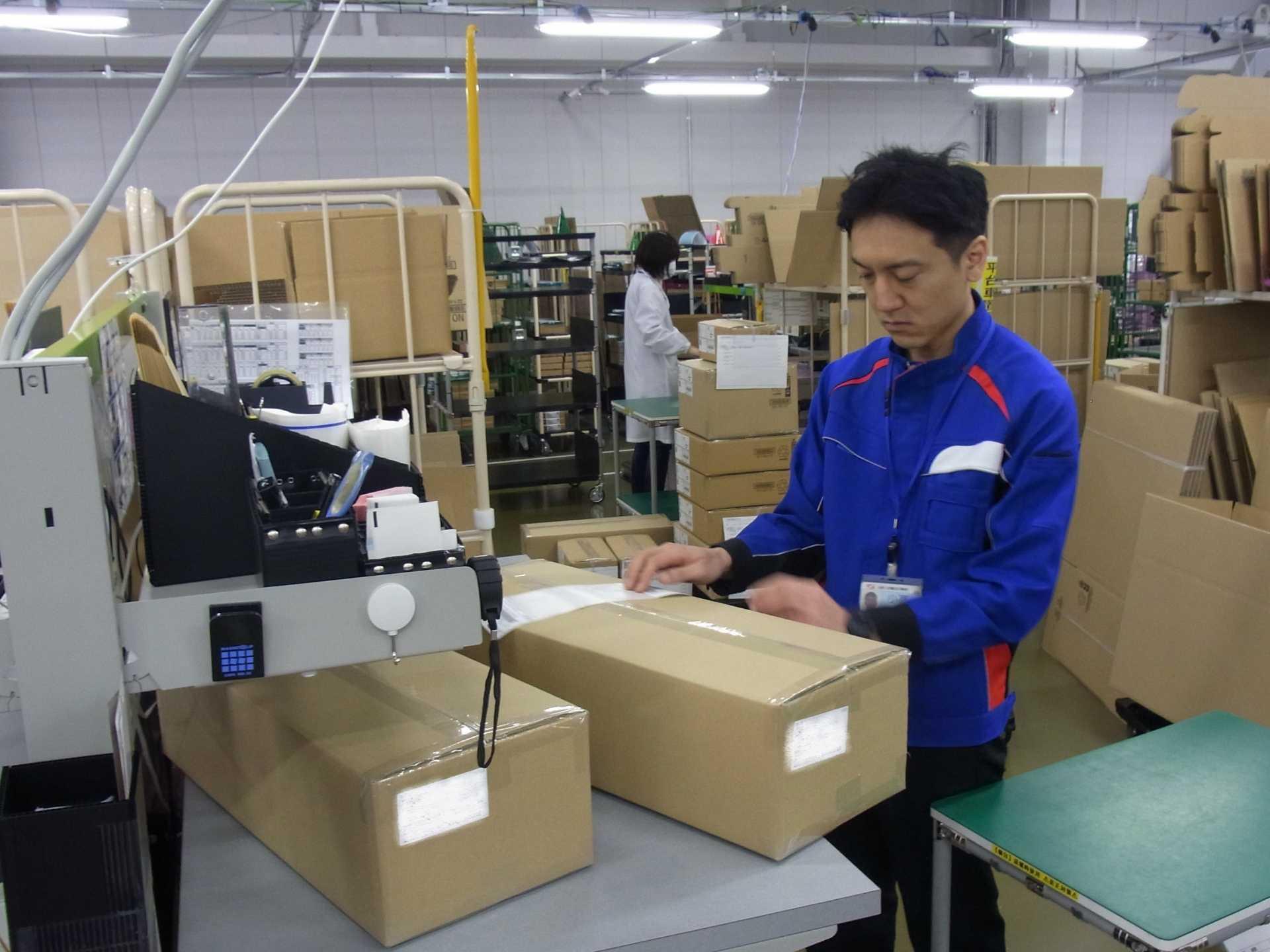倉庫内作業が初めてでも、安心してスタートできるお仕事です。